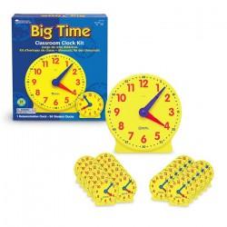 Set de relojes de aula
